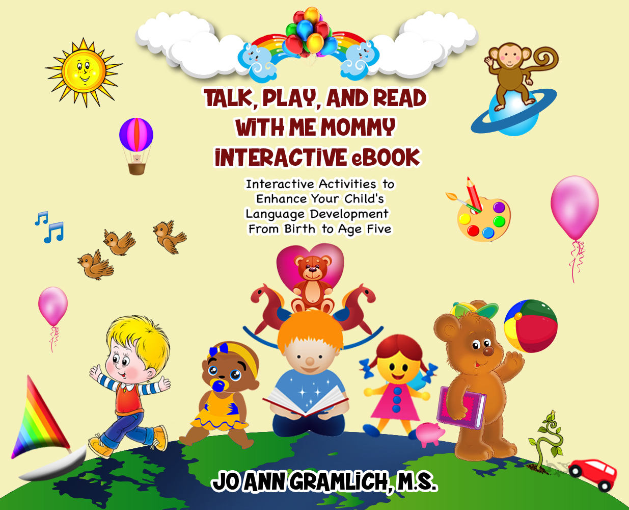 Jo ann's book on interactive activities for infants