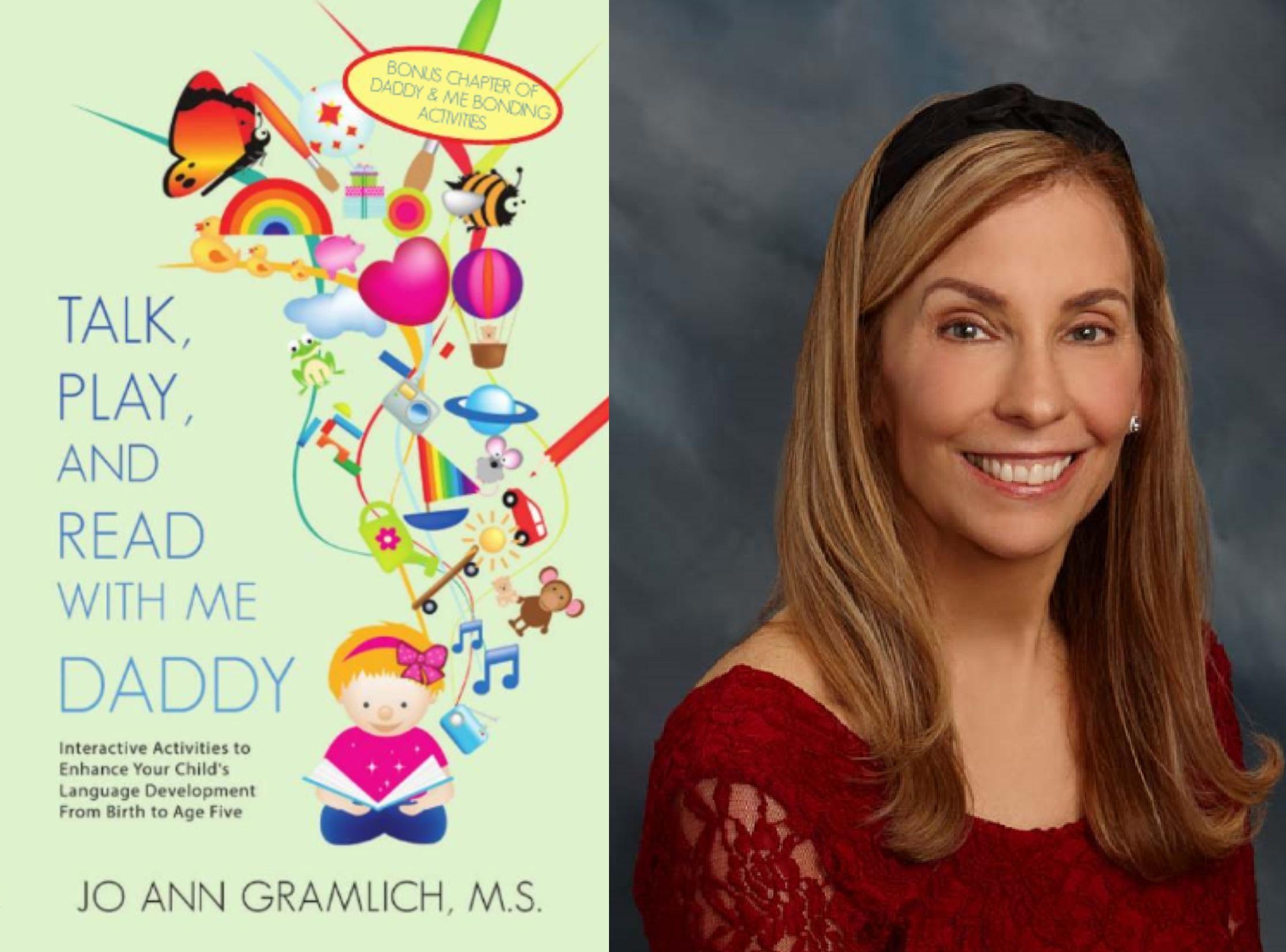 Daddy book & Jo Ann Gramlich